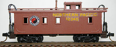 N Scale Micro Trains 34' Wood-Sheathed Caboose with Slant-Side Cupola
