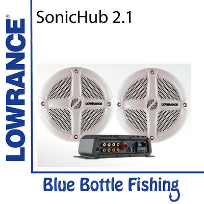 Lowrance SonicHub2.1 with Speakers