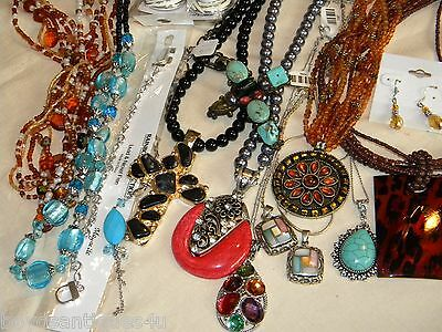 Ma7) Mixed lot NEW -to- HARVEST Wearable /Re-purpose jewelry Resale/ Wholesale