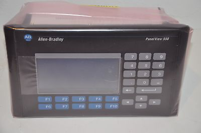 Allen Bradley AB 2711-K5A2 PanelView 550 Operator Terminal, FRN 3.30