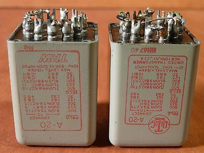 Utc A20 Input, Transformer Pair, Tube Mic Preamp
