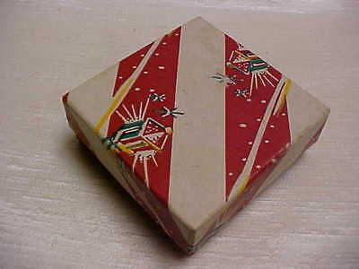 Vintage1950's Foley's Department Store Houston Texas Christmas Box for Gift
