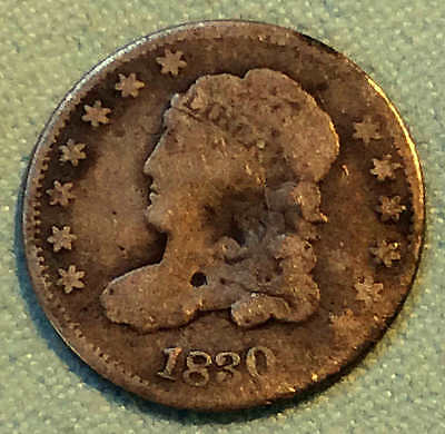 1830 Bust Half Dime Early Date FREE SHIPPING