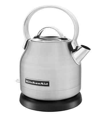 KitchenAid New Stainless Steel Body Electric Water Tea Kettle 1.25 Liter