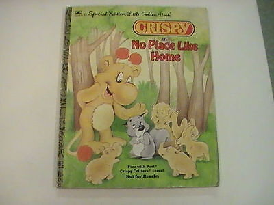 Crispy in No Place Like Home, 1987, Little Golden Special edition