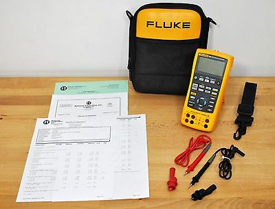 Fluke 726 Precision Multifunction Process Calibrator Meter Jus Fully Calibrated
