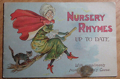 Rare 1892 Nursery Rhymes Up To Date Advertisement Bendrop's Royal Dutch Cocoa