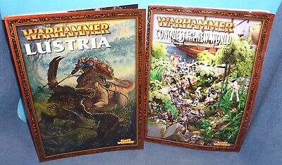 Warhammer Fantasy Lustria & Conquest Of The New World Set GW OOP