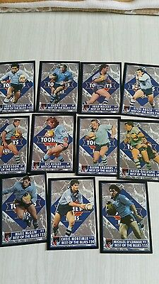 NRL collectable nsw state of origin football cards-1994
