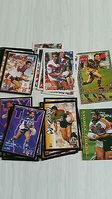 NRL collectable football cards 1994 and 1995