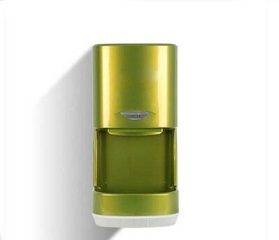 New Green Plastic Commercial Wall Mounted Automatic Induction Hand Dryer Machine