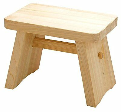 Made in Japan Hinoki Pure Wood Large Size Bath Stool