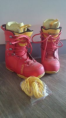 Mens Celsius Snow Board Boots Size US 9.5