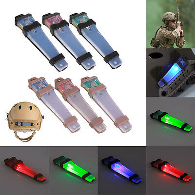 Tactical FMA Helmet Safety Light LED Flashing for Airsoft Bike Driving