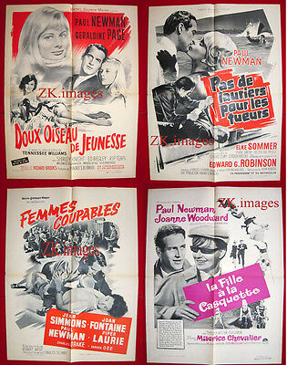 PAUL NEWMAN Simmons Sommer Page Woodward 4 AFF ORIG