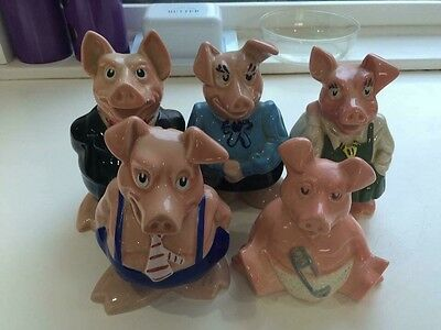 NATWEST Pigs - full set - Collectibles from Wade