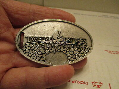 Vintage 1996 Classic Lpga Twelve Bridges Golf Bag Tag