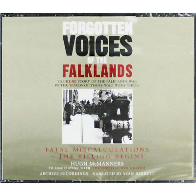Forgotten Voices Of The Falklands - Fatal Miscalculations - Audio Book, CDs, New