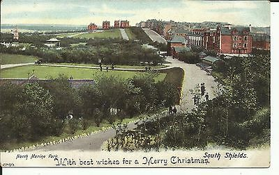 """South Shields, North Marine Park; """"Christmas Wishes"""""""