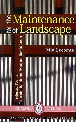 For the Maintenance of Landscape by Mia Lecomte Paperback Book (English)
