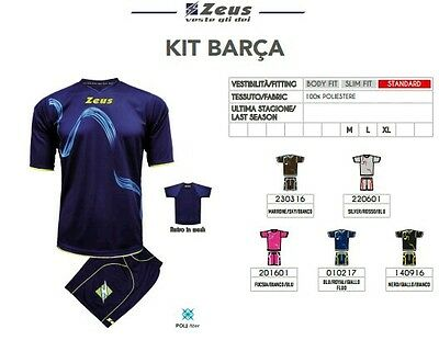 Kit Calcio Calcetto Volley Basket Zeus Sport Barca