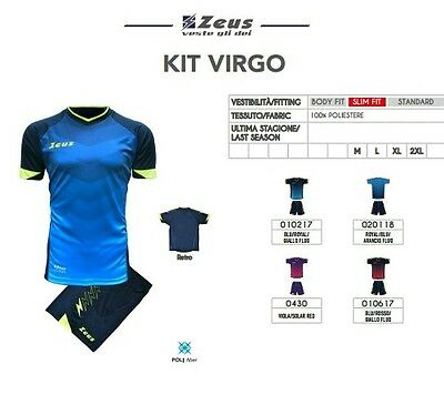 Kit Calcio Calcetto Volley Basket Zeus Sport Virgo