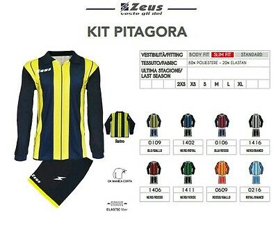 Kit Calcio Calcetto Volley Basket Zeus Sport Pitagora
