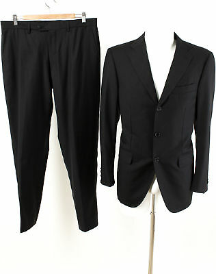 CARUSO BY Möller & Schaar Anzug Gr. 48 Wolle SUPER 110'S Slim Fit Business Suit
