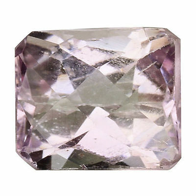 4.445Cts Gorgeous Amazing Soft Pink Natural Kunzite Cushion Loose Gemstones