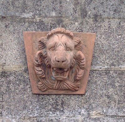 Stone - 3D Lion Garden Wall Plaque or Water Feature