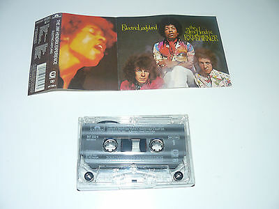 the jimi hendrix EXPERIENCE  ELECTRIC LADYLAND CASSETTE