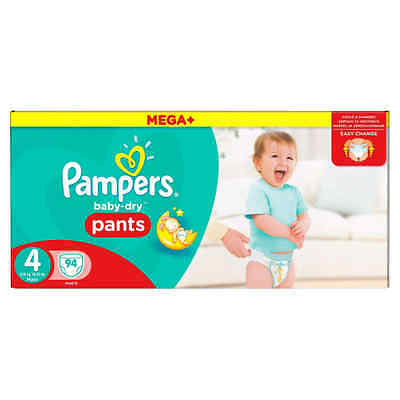 Pampers Baby-Dry Pants - Size 4, Pack of 94 ORIGINAL Pampers