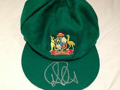 Ricky Ponting Signed Australian Cricket Baggy Green Cap
