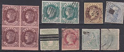 A Small Selection Of Early Spain.cat Value ££320.00 Plus.nice Lot.look