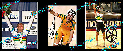 Cameron Meyer Australian Cycling Champion Signed Photo +2 Photos