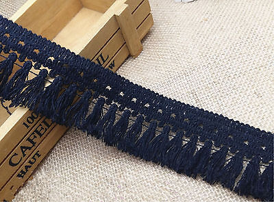 "1yd wholesale High Quality 1.8"" COTTON TASSEL FRINGE TRIM"