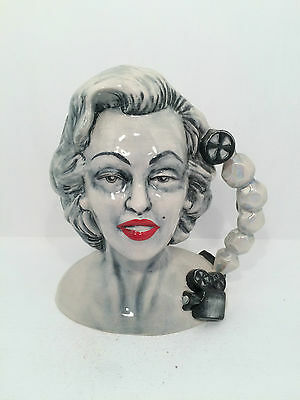 Manor Collectables Marilyn Monroe Stars of Golden Era Toby Jug PROTOTYPE RARE