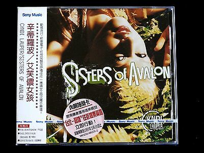 Cyndi Lauper Sisters Of Avalon Taiwan Ltd w/obi CD Sealed 1997 Promo Coupon Card