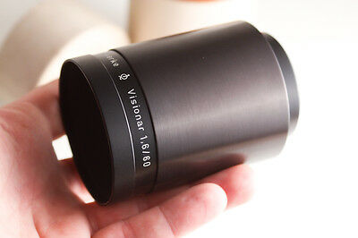 EXC fast VISIONAR 60mm F1.6 projection lens BOKEH dslr movie carl zeiss rathenow