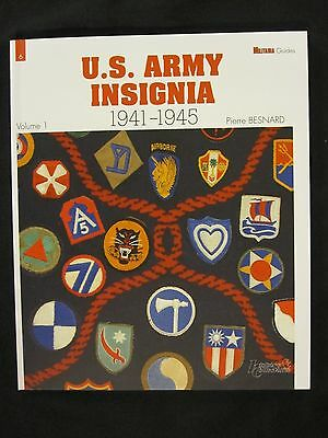 U.S. Army Insignia  1941-1945 - 82 pages, Color Photos Throughout
