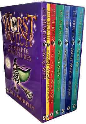 NEW The Worst Witch Complete Adventures 7 Book Box Set Collection RRP £41.93