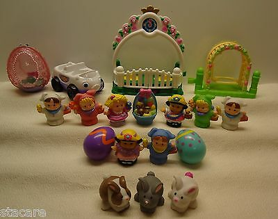 Fisher Price Little People EASTER SPRING ANIMALS AND ACCESSORIES