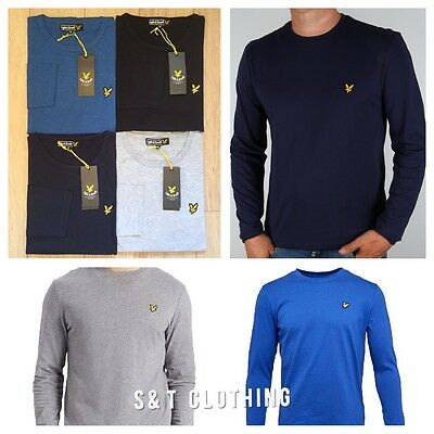 Lyle and Scott Long Sleeve Crew Neck T-Shirt Polo