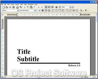 Word Processor Software for MS Windows 2010 2013 2016 NEW Software Program