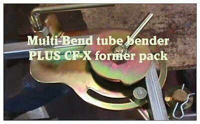 Tube Bender-Multi-Bend NOW With 2CF-X CONCAVE FORMERS , AUSTRALIA MADE