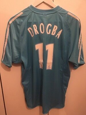 Maillot Drogba Marseille Ext OM Maglia Shirt Jersey Chelsea Montreal