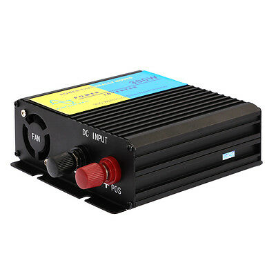 300W Power Inverter Charger Adapter for Car 12V DC to 220V AC Pure Sine Wave New