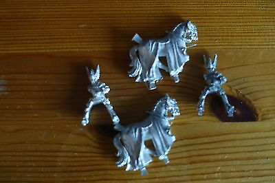 Warhammer Lord of the Rings Metal Horse and Riders