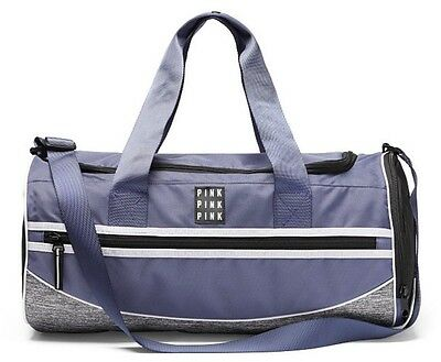 4b0f377e82 VICTORIA S SECRET PINK Gym Duffle Bag Frosted Blueberry - New ...