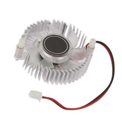 Cooler DC 12V 2Pin Brushless Fan Heatsinks 50mm VGA Graphics Video Card GPU